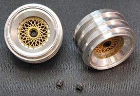 Brm S016 Rear Wheels Bbs Pr 1 24 Scale S016 12 99