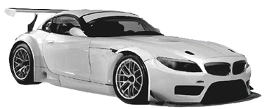 scale auto sc7031 bmw z4 gt3 white kit 1 24 scale sc7031 electric dreams new and. Black Bedroom Furniture Sets. Home Design Ideas