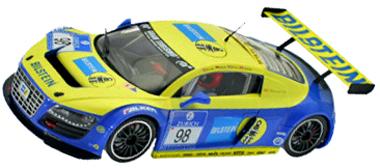 Scale Auto SC7043 Audi R8 #98, Bilstein, 1/24 scale