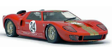 Slot It SICA18A Ford GT40, Sebring 1966