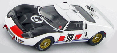 Slot It SICA20B Ford GT40 MkII, Daytona winner. Preorder now!
