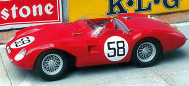 Stanguellini, LeMans 1957, red #58 RTR