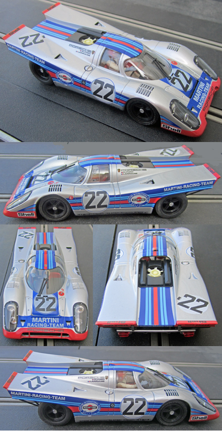 Fly 005105 Porsche 917 Martini #22, Spa 1971