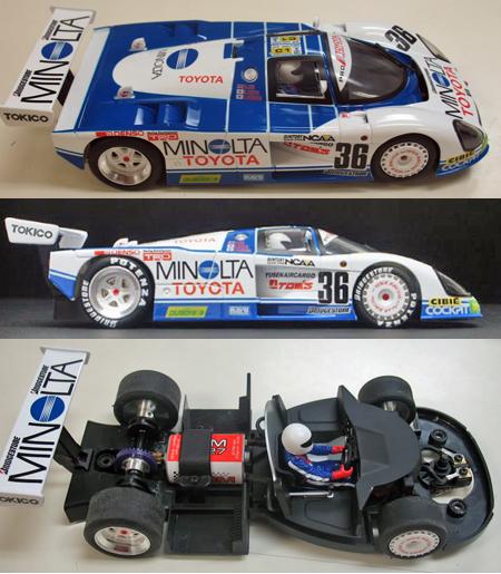 BRM 011SE Toyota 88C Minolta RTR 1/24 scale