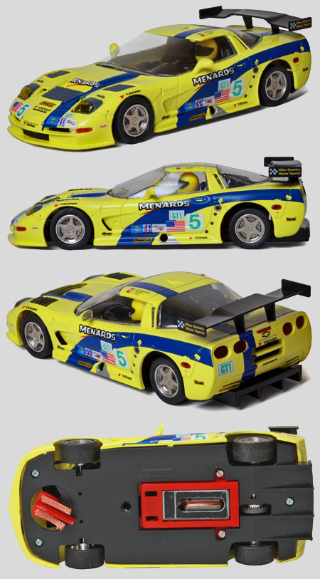 Fly 015201 Corvette C5R Menards w/ racing chassis