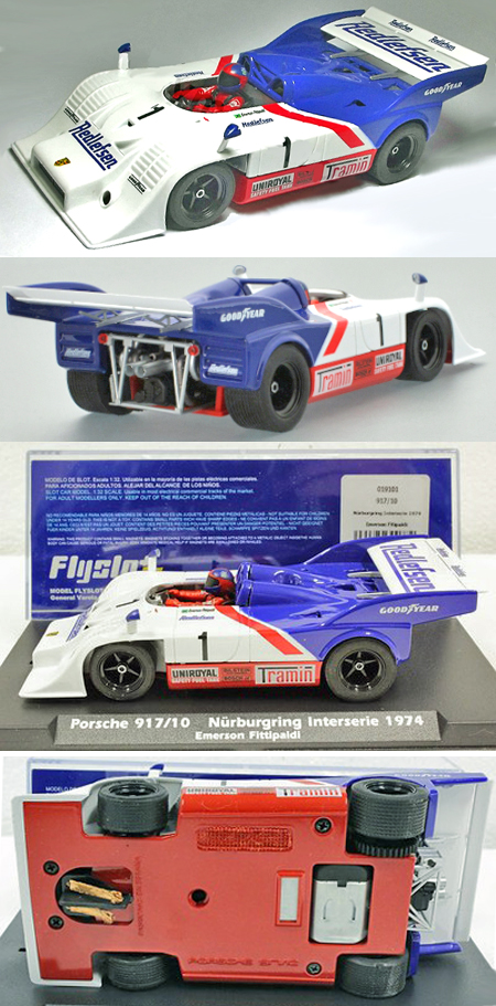 Fly 019101 Porsche 917-10, Interserie, Emerson Fittipaldi