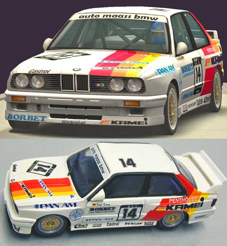 Fly 038101 BMW M3 DTM 1988.