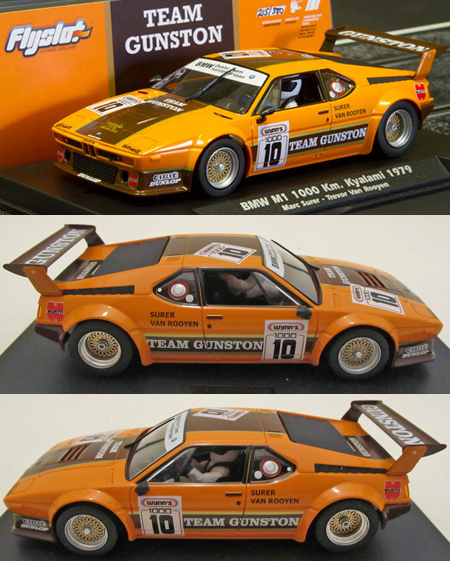Fly 053101 BMW M1 Team Gunston, limited edition of 380 worldwide