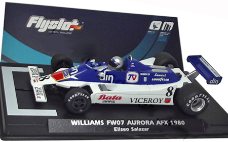 Fly 055303 Williams FW07, Eliseo Salazar