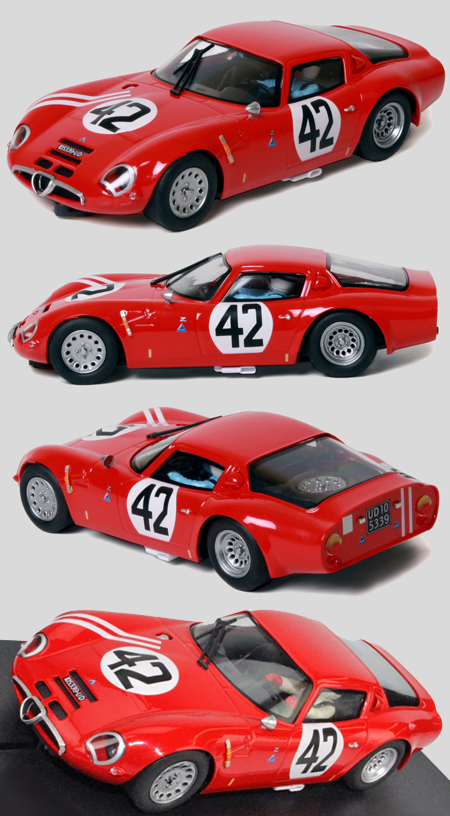 Fly 057305 Alfa Romeo TZ2, red #42