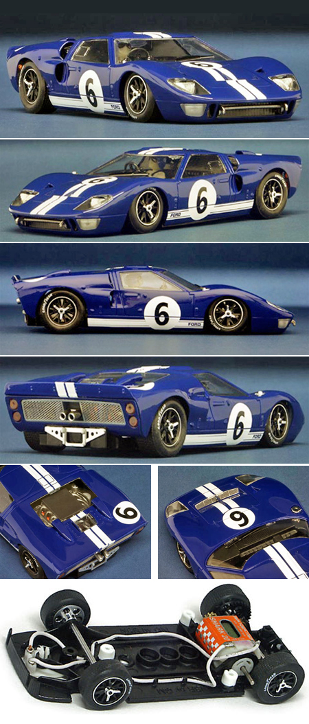 NSR 1080 Ford MkII, blue #6, LeMans 1966 - $116.99