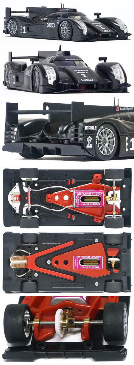 NSR 1095IL Audi R18, 2011 test car livery