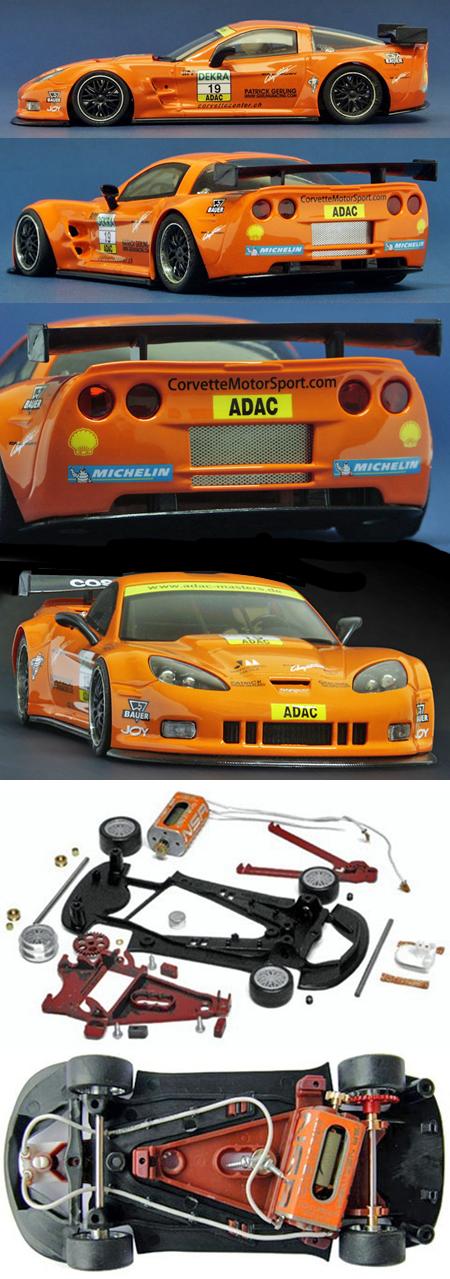 NSR 1110AW Corvette Z06R GT2 #19, ADAC Masters