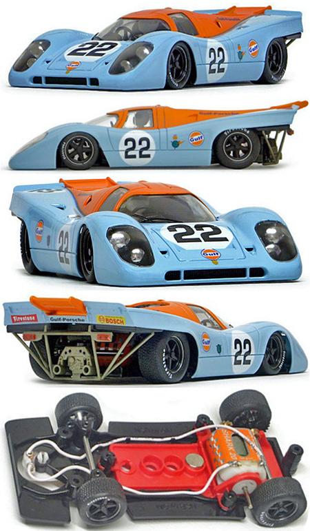 NSR 1112SW Porsche 917 LeMans 24 Hours, Gulf #22