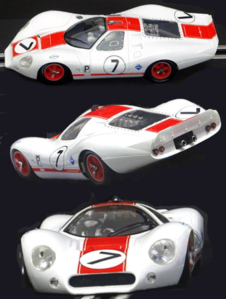 NSR 1126SW Ford P68 (F3L), white/red #7