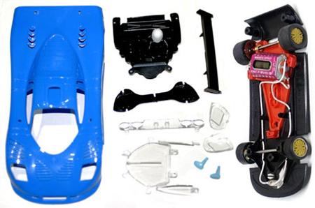 NSR 1133AW-B Mosler MT900R Evo ultralight, blue