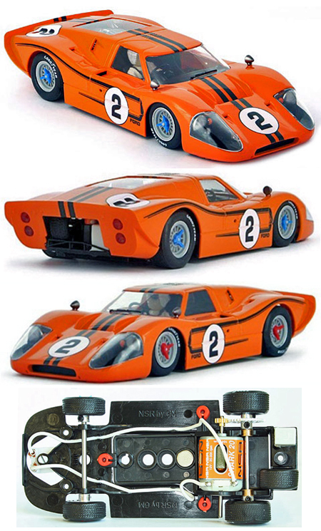 NSR 1151SW Ford MkIV #2 orange, limited edition of 500