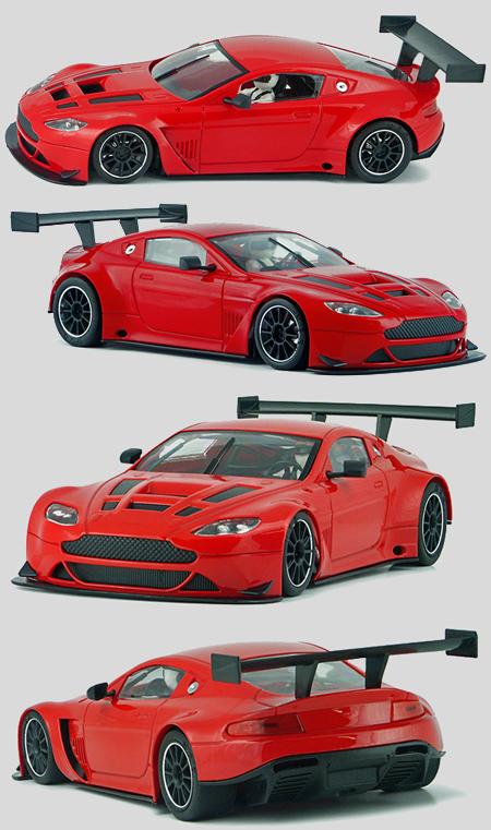 NSR 1156AW Aston Martin V12 Vantage, plain red
