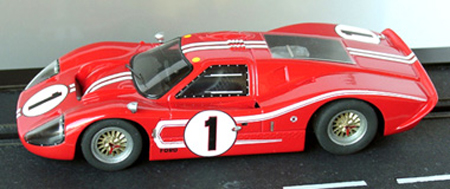 Ford MkIV, 1967 LeMans winner, Dan Gurney/A.J. Foyt - LeMans Miniatures 132001