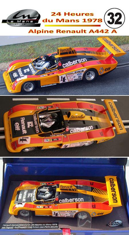 LeMans Miniatures 132038/4M Alpine Renault A442A, LeMans 1978 #4