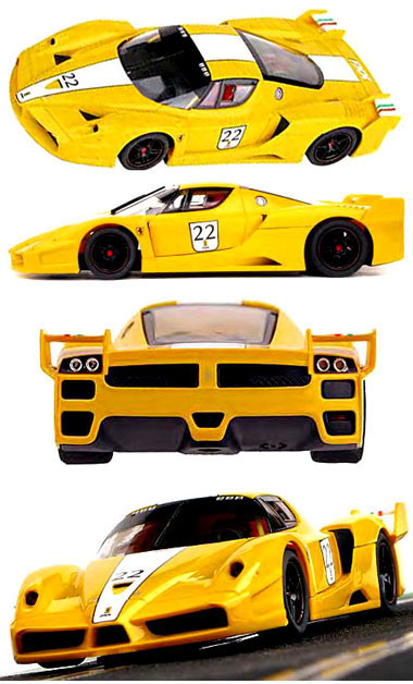 SCX 13810 Ferrari FXX yellow, digital