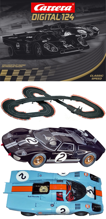 Carrera 23609 Classic Speed race set, Digital 124 -