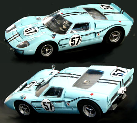 carrera 23735 ford gt40 mkii 1967 57 1 24 scale c. Black Bedroom Furniture Sets. Home Design Ideas