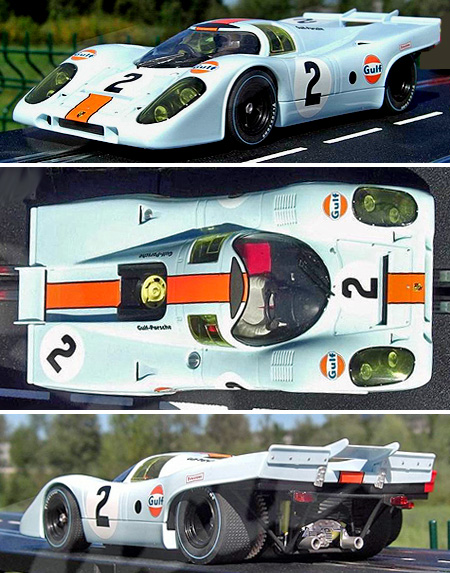 Carrera 23777 Porsche 917 1971 Daytona winner 1/24 scale