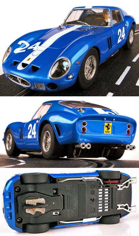 Carrera 23764 Ferrari 250 GTO, blue, D124