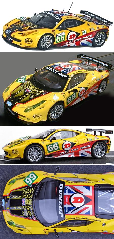 Carrera 27399 Ferrari 458 GT2, JMW #66, 2011