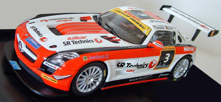 Carrera 27427 Mercedes SLS Black Falcon 2012