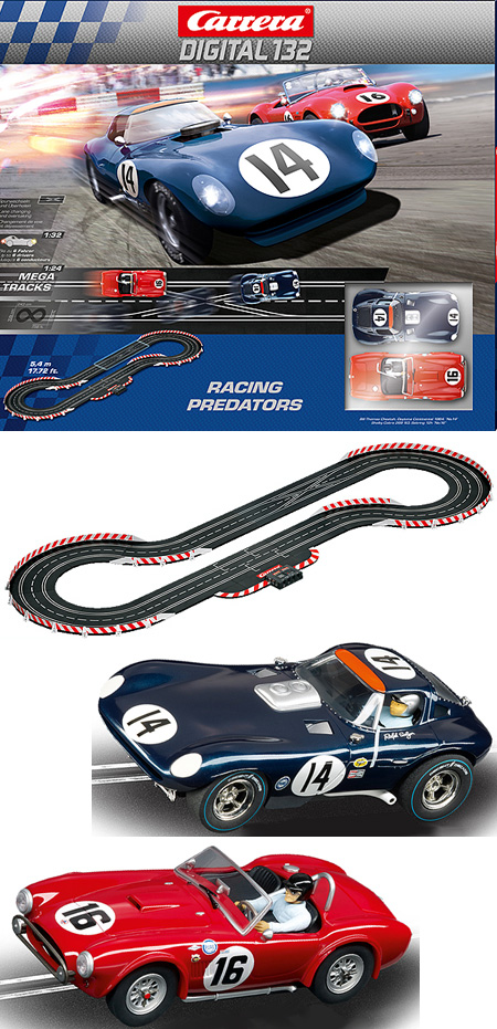 Carrera 30156 Racing Predators set, Digital 132