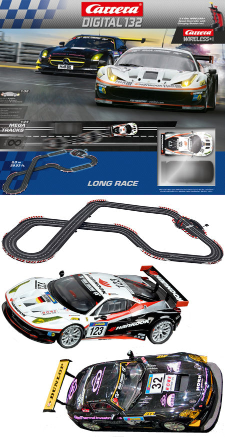 Carrera 30160 Long Race set, Digital 132