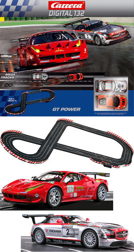 Carrera 30161 GT Power set, Digital 132