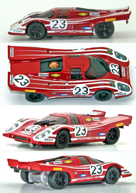 Kyosho 30204 Porsche 917 1970 LeMans winner, 1/43 scale