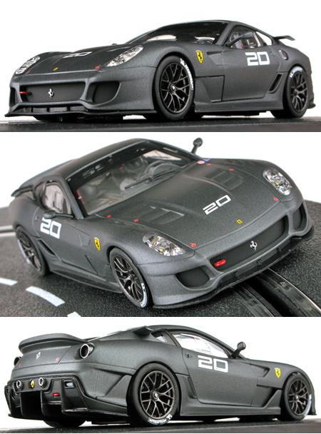Carrera 30564 Ferrari 599XX, silver-grey, D132