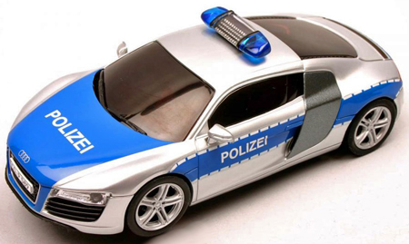 Carrera 30644 Audi R8 police car -