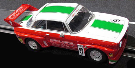 Carrera 30647 Alfa GTA silhouette, red/white/green #9, Digital 132