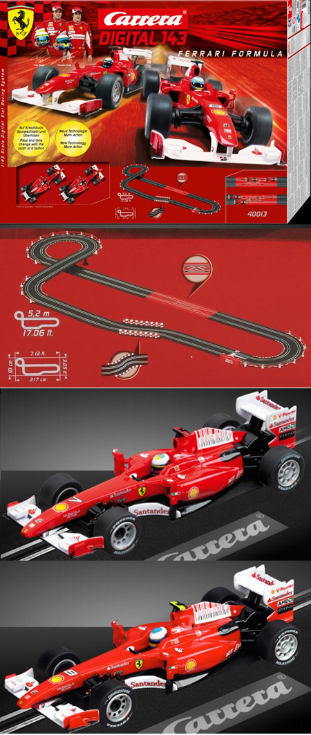 Carrera 40013 Ferrari Formula 1 race set, Digital 143