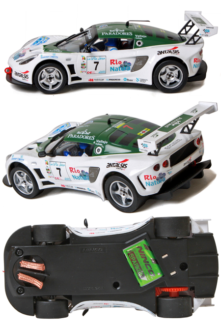 Ninco 50540 Lotus Exige Rally Car Vallejo 50540 69