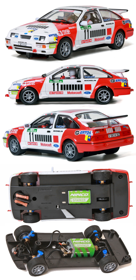 "Ninco 50581 Ford Sierra rally car, Marlboro ""barcode"""
