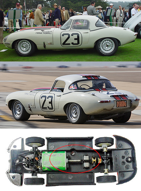 Ninco 50596 Jaguar E-type (XKE) Lightweight