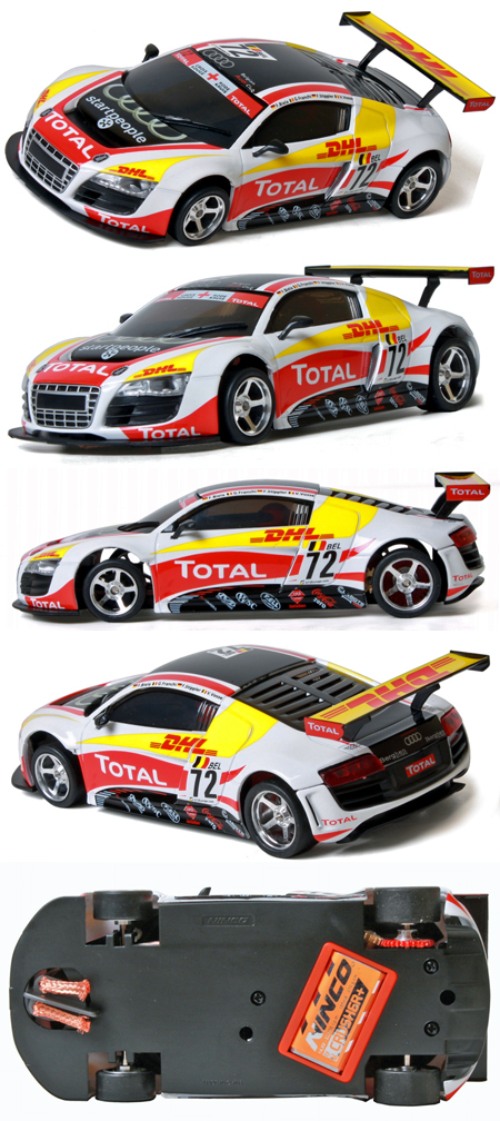 "Ninco 50597 Audi R8 GT3 Lightning ""Total"""