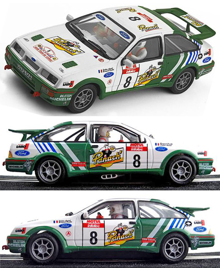 Ninco 50603 Ford Sierra rally car, Didier Auriol, Corsica Rally