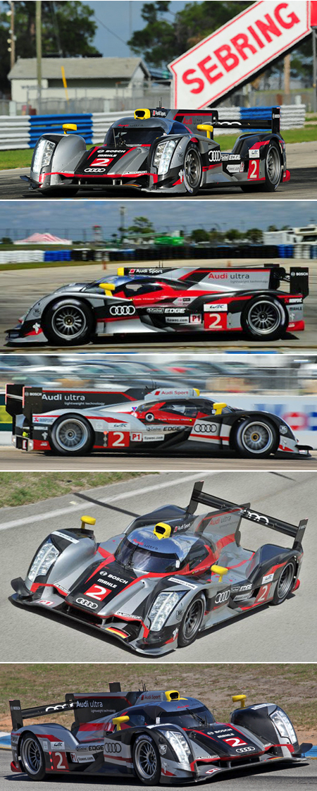 Ninco 50607 Audi R18 2012 Sebring winner. Preorder now!