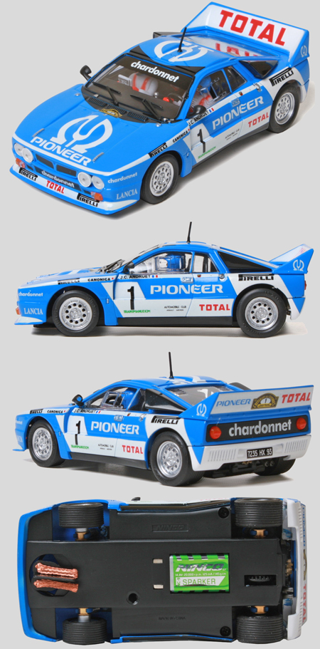 Ninco 50614 Lancia 037 rally car, Pioneer