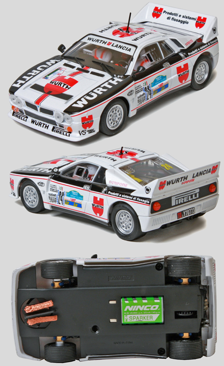 Ninco 50621 Lancia 037 rally car, Wurth
