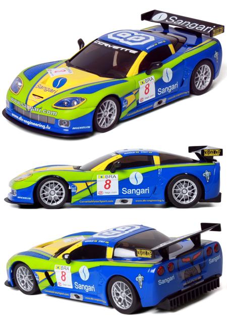 "Ninco 55024 Corvette Z06 GT3 ""Sangari"""