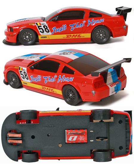 Ninco 55045 Mustang FR500 DHL Digital [55045]