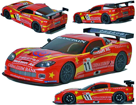 "Ninco 55061 Corvette C6R GT3 ""China Exim Bank"""